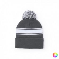 Dvoubarevná zimní čepice