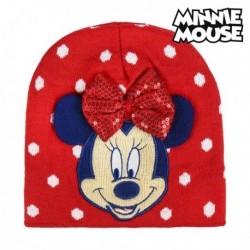 Dětská čepice - Minnie Mouse 74350 - červená