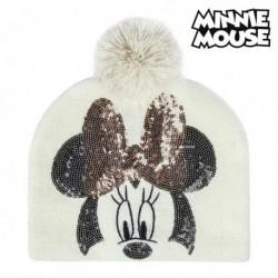 Dětská čepice - Minnie Mouse 74302 - bílá