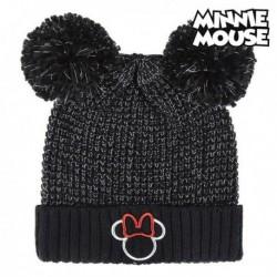 Dětská čepice - Minnie Mouse - černá