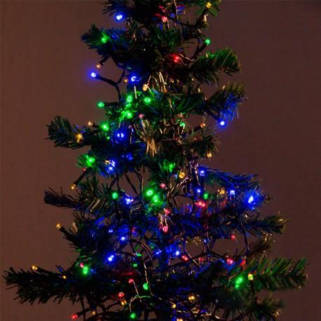 Vánoční osvětlení - barevné - 48 LED
