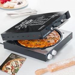 Elektrická trouba na pizzu s knihou receptů Presto! - 1200 W - InnovaGoods