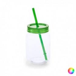 Uzavíratelná sklenice s brčkem 144820 - 600 ml