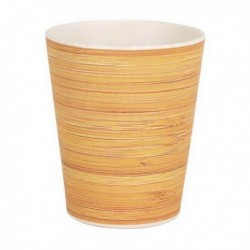 Bambusový kelímek - imitace dřeva - 10 x 8,3 cm - Privilege