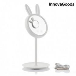 LED dotykové zrcadlo na líčení 2 v 1 Mirrobbit - InnovaGoods