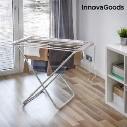 Skládací elektrický sušák na prádlo - 6 tyčí - 100 W - InnovaGoods