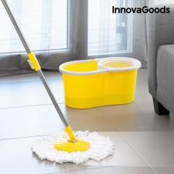 Rotační mop s dvojím účinkem a kýblem - InnovaGoods