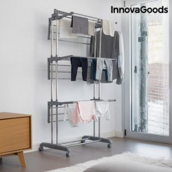 Skládací sušák na kolečkách - 18 tyčí - InnovaGoods