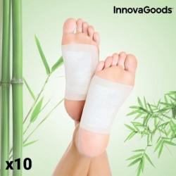 Detoxikační náplasti na nohy - 10 ks - InnovaGoods