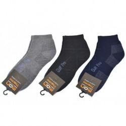 Pánské kotníkové termo ponožky Golf Pro - mix barev - 3 páry - Man Thermo