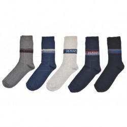 Pánské ponožky Jeans - mix barev - 5 párů - Deni Meli