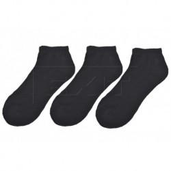 Kotníkové termo ponožky Walking - černé - 3 páry - Looken