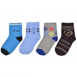 Dětské ponožky QM-5020- mix barev - 4 páry - Pesail