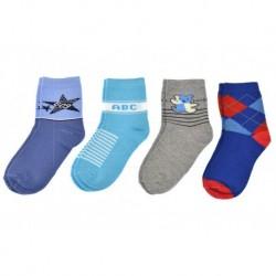 Dětské ponožky QM-5017- mix barev - 4 páry - Pesail