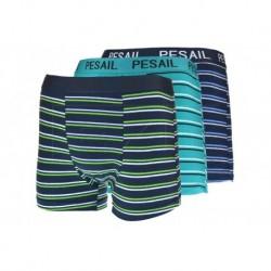 Pánské boxerky s pruhy - mix barev - 1 ks - Pesail