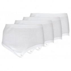 Komfortní bavlněné kalhotky 12647 - set 4 ks - Daisy