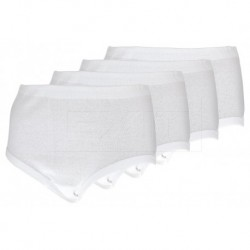 Komfortní bavlněné kalhotky - set 4 ks - Daisy