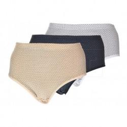 Klasické kalhotky s puntíky - mix barev - 1 ks - Tina Shan