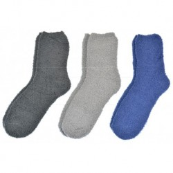 Pánské chlupaté termo ponožky - mix barev - 3 ks - Looken