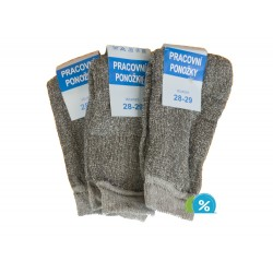Klasické pracovní ponožky - 5 párů