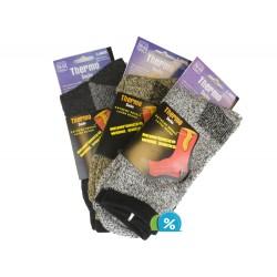 Pánské MEGA termo ponožky C-6003 - 3 páry - Virgina