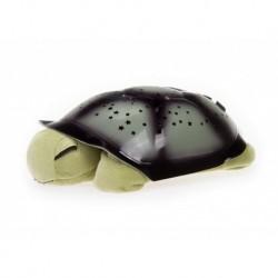 Projektor hvězd - magická želvička - hrající - zelená
