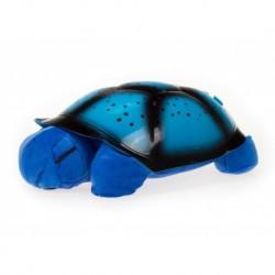 Projektor hvězd - magická želvička - hrající - modrá