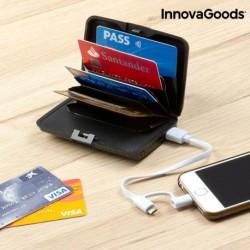 Bezpečnostní pouzdro na karty s powerbankou - InnovaGoods