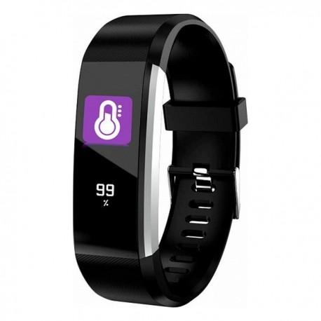 Fitness náramek Denver Electronics BFH-16, Bluetooth 4.0, 0,6 TFT, IP67