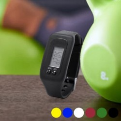 Fitness náramek s krokoměrem a hodinkami, LCD