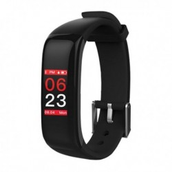 "Fitness náramek BSport-15-N - 0,96"" - OLED - černý - Bluetooth 4.0 - IP67 - Brigmton"