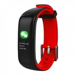 Fitness náramek Brigmton BSport-15-R, 0,96 OLED, Bluetooth 4.0, IP67 - červený