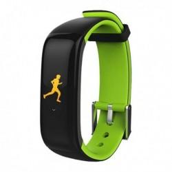 "Fitness náramek Brigmton BSport-15-V, 0,96"" OLED, Bluetooth 4.0, IP67 - zelený"