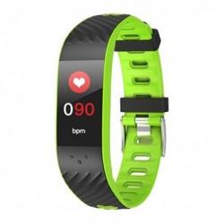 "Fitness náramek Brigmton BSport-16-V, 0,96"" OLED, Bluetooth 4.0, IP67 - zelený"