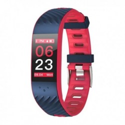 "Fitness náramek Brigmton BSport-16-R, 0,96"" OLED, Bluetooth 4.0, IP67 - červený"
