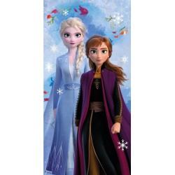 Osuška - Ledové Království 2 - Snowflakes - 140x70 cm - Jerry Fabrics