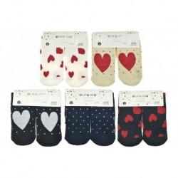 Dámské termo ponožky s protiskluzovou podrážkou - mix motivů - 5 párů - Auravia