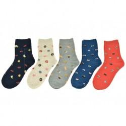 Dámské ponožky - mix motivů - 5 párů - Auravia