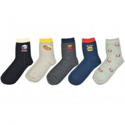 Pánské ponožky s jídlem - mix motivů - 5 párů - Auravia
