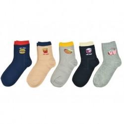 Dámské ponožky s jídlem - mix motivů - 5 párů - Auravia