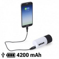 Reproduktor na Bluetooth s powerbankou - 4200 mAh