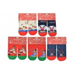 Dámské termo ponožky s vánočními motivy - 5 párů - Auravia