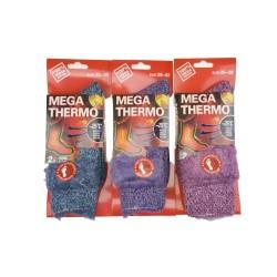 Dámské mega termo ponožky C-6007 - 1 pár - Virgina