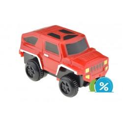 Nové autíčko ke svítící autodráze - šířka 6 cm - červené