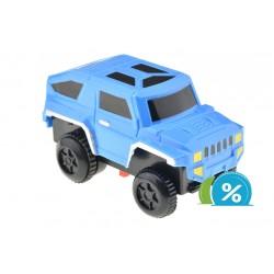 Nové autíčko ke svítící autodráze - šířka 6 cm - modré
