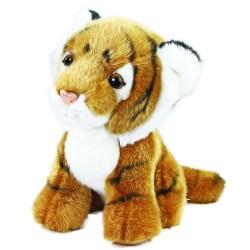 Plyšový tygr - sedící - 18 cm - Rappa