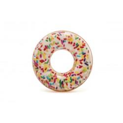Nafukovací kruh - Donut s posypem - 114 cm - Rappa