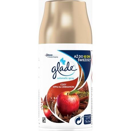 Náplň do automatického osvěžovače vzduchu - Glade - COSY - Jablko a skořice - 269 ml - Brise