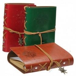 Originální cestovatelský deník v kožených deskách
