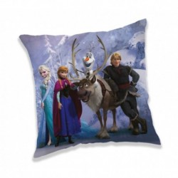 Polštářek - Purple - Ledové Království 2 - 40 x 40 cm - Jerry Fabrics